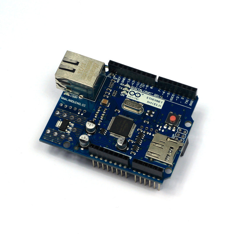 Arduino W5100 R3 Ethernet Shield